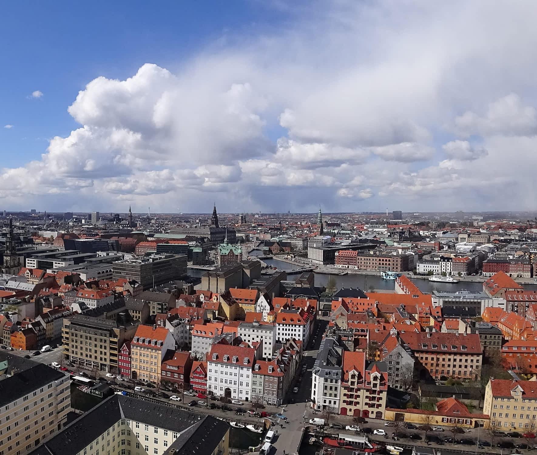 København set fra oven | Psykologer i København og omegn