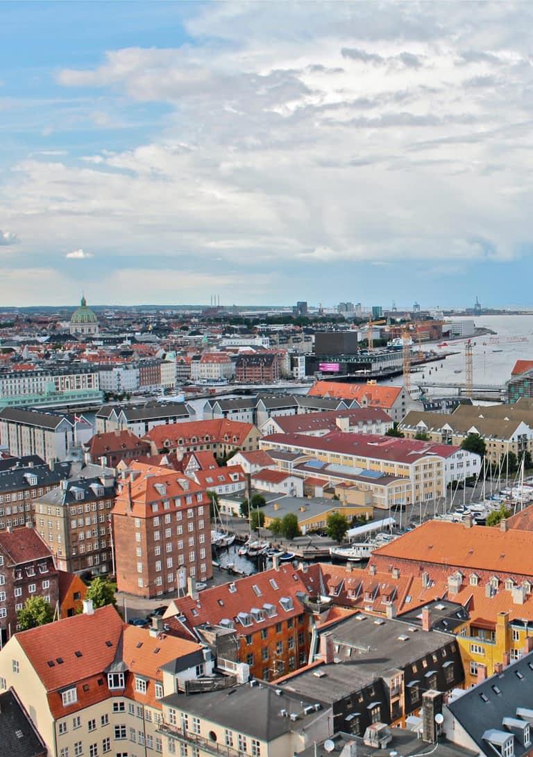 København set fra oven | Psykologer i København